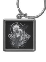 Skull Designs on Keychains