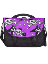 Skull Designs on Laptop Bags