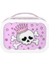 Skull Designs on Lunchboxes