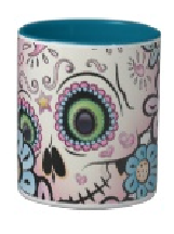 Skull Designs on Mugs
