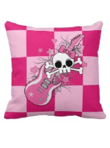 Skull Designs on  Pillows