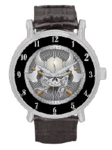 Skull Designs on  Watches