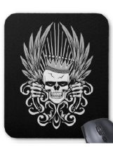 Skull Designs on  Mousepads