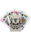 Skull Designs on Playing Cards